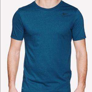 Nike Men Dri-Fit Training Dry T-Shirt Teal